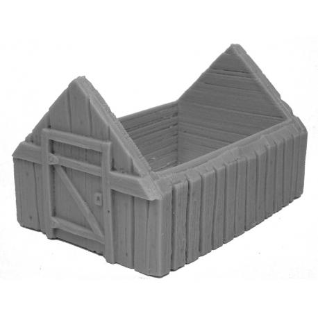 Wooden Hut body