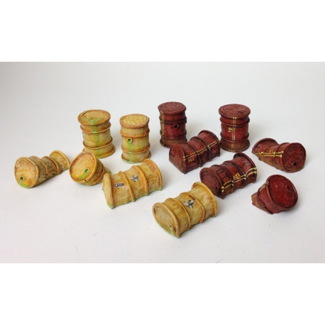 Twelve Ruined Barrels