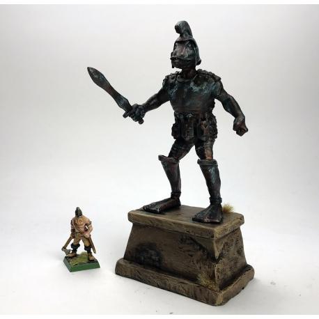Duck Temple Guardian statue