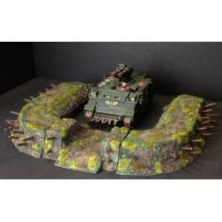 Earth work Tank / Artillery bunker