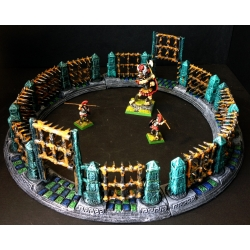 Spiked Fighting Arena