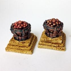 Hot Coal Braziers