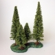 Sculpted Tree base, large