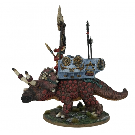 Crunchfoot, Triceratops with Howdah