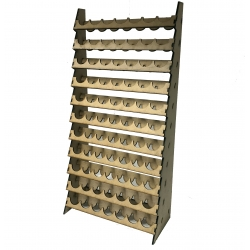 77 Pot Paint Rack Vallejo size