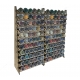2x 66 Pot Paint Rack Deal, holds 152 GW pots