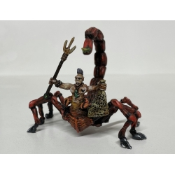 Scorpion Man with Trident and Net