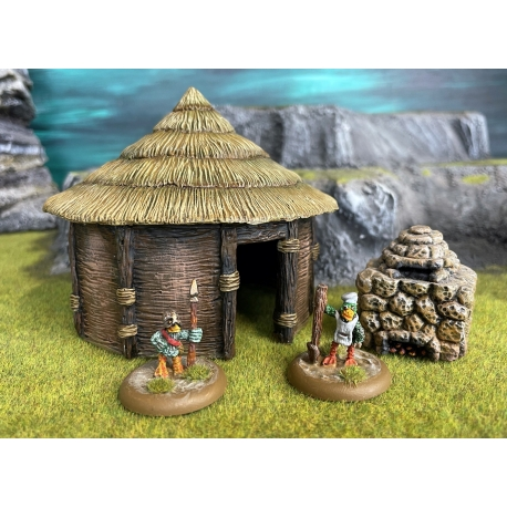 Small Round House