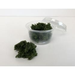 Dark green sponge foliage, scenic material