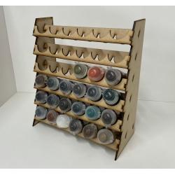 Mini GW Style, Tall Pots Paint Rack