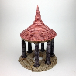 Temple with Stone Spire